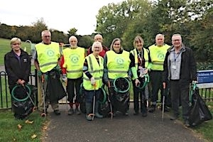 Rotary Club of Chatham's litter pickers