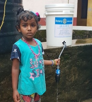 Project Hope brings water filter kits to Kerala