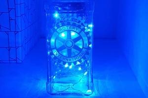 Upcycling - making of light bottles