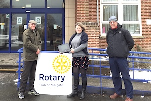 Rotary Club of Margate - laptops donations