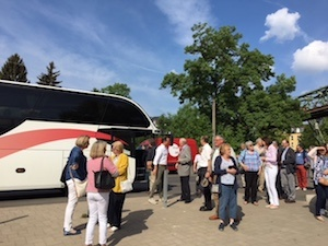 Rotary Club of Orpington visit Wuppertal