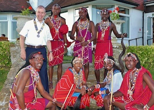 Bexhill's Maasai warriors