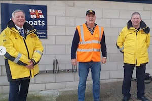 Rotary Club of Sovereign Harbour supports Eastbourne lifeboat