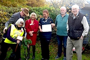 Tenterden plants two trees