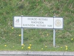 Rhondda Rotary Way