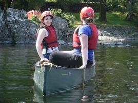 RYLA Canoeing