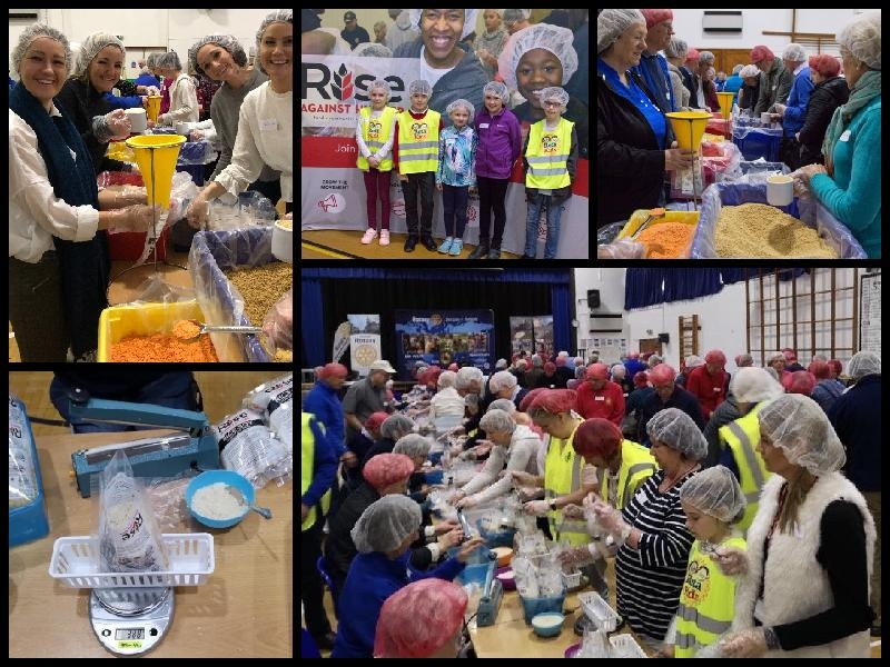 Grange Meal Packing Event