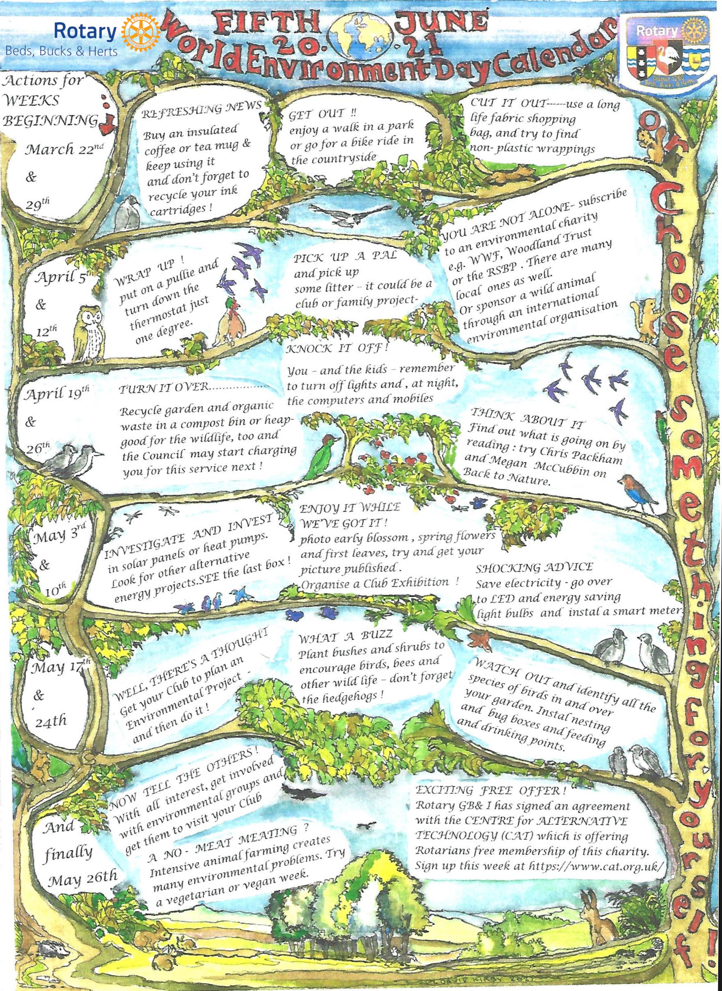 World Environment Day Calendar