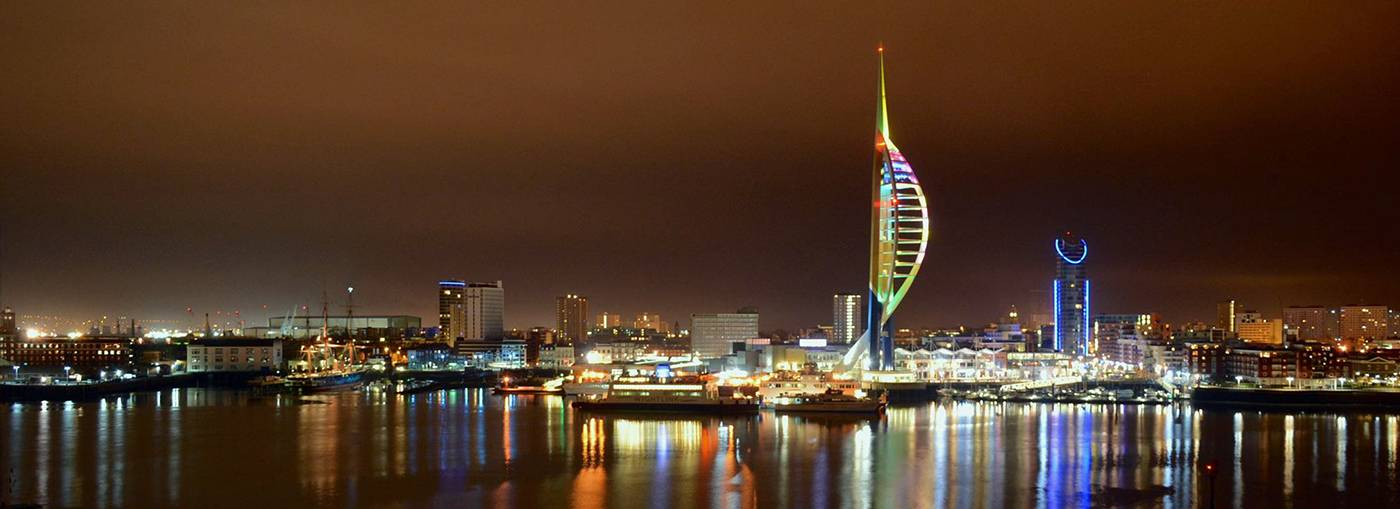 Portsmouth and the Spinnaker Tower