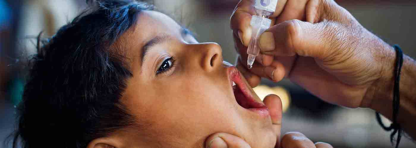 Rotary's 30+ year campaign to eradicate polio