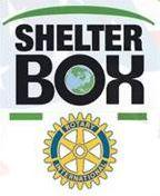 Rotary have supported Shelter Box for many years and the boxes are used throughout the world in support of people displaced following earthquakes, floods or similar misfortunes.